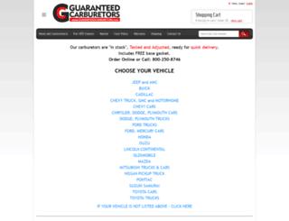 guaranteedcarbs.com screenshot