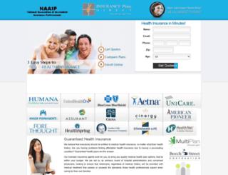 guaranteedplans.com screenshot