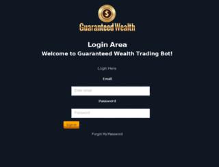 guaranteedwealthsystem.co screenshot