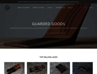 guardedgoods.com screenshot