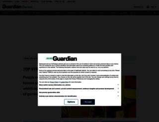 guardian-series.co.uk screenshot