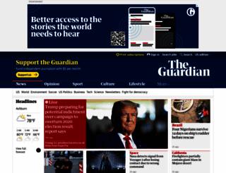 guardian.co.uk screenshot