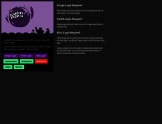 guardian.theater screenshot