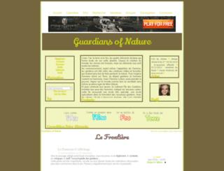 guardians-of-nature.naturalforum.net screenshot