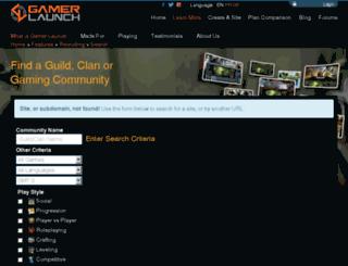 guardianscreed.guildlaunch.com screenshot