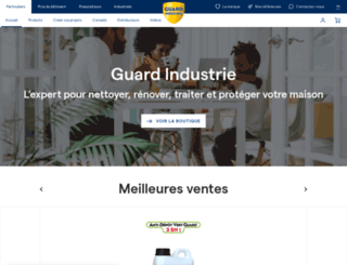 guardindustrie.net screenshot