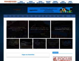 guarulhosemrede.com.br screenshot