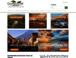 guatemalanadventure.com screenshot