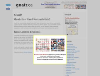 guatr.ca screenshot