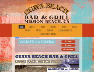 guava-beach.wannabemobile.com screenshot