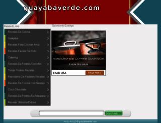 guayabaverde.com screenshot