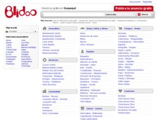 guayaquil.blidoo.com.ec screenshot
