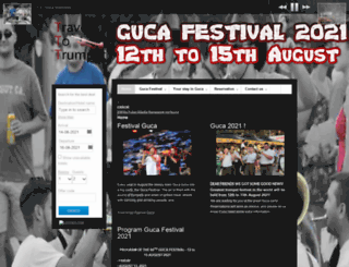 guca-festival.com screenshot