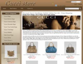 gucci-bags-uk.net screenshot