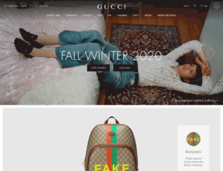 5610c2dc051e Access gucci.com. Gucci Official Site – Redefining modern luxury ...