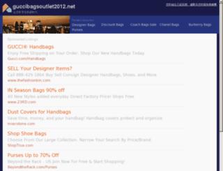 guccibagsoutlet2012.net screenshot