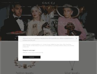 guccijewelry.com screenshot