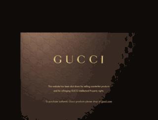 guccitoutlet-onlines.com screenshot