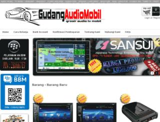 gudangaudiomobil.com screenshot