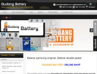 gudangbattery.com screenshot