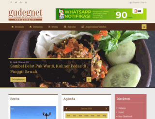 gudeg.net screenshot