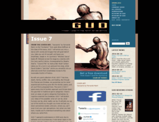 gudmagazine.com screenshot