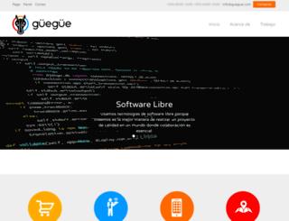 guegue.com screenshot