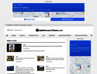 guelphmercury.com screenshot