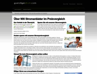 guenstigerstrom.com screenshot