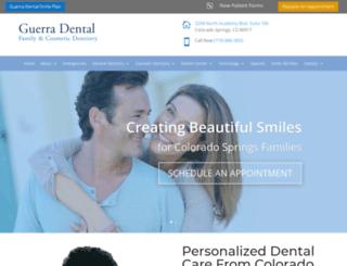 guerradental.com screenshot