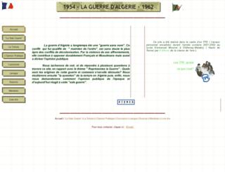 guerredalgerie.free.fr screenshot