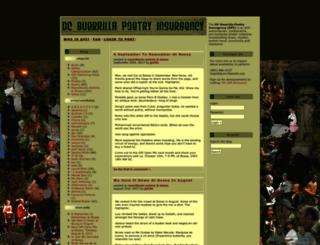 guerrillapoets.org screenshot