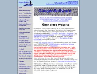 guesgen-software.de screenshot