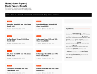 guesspapers.org screenshot