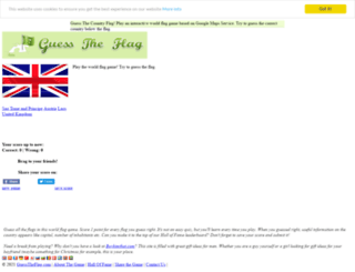guesstheflag.com screenshot