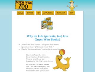 guesswhozoo.com screenshot
