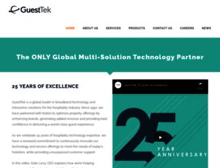 guest-tek.com screenshot