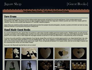 guestbookjigsaws.co.uk screenshot