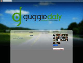 guggiedaly.blogspot.com screenshot