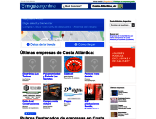 guia-costa-atlantica.miguiaargentina.com.ar screenshot