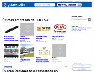 guia-huelva.guiaespana.com.es screenshot