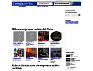 guia-mardelplata.miguiaargentina.com.ar screenshot