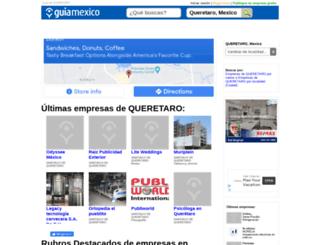 guia-queretaro.guiamexico.com.mx screenshot