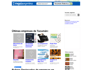 guia-tucuman.miguiaargentina.com.ar screenshot