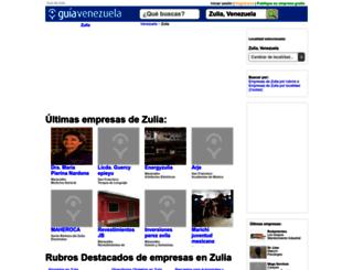 guia-zulia.guiavenezuela.com.ve screenshot