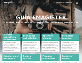 guia.emagister.com screenshot