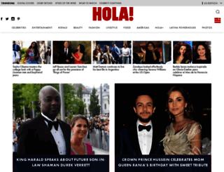 guia.hola.com screenshot