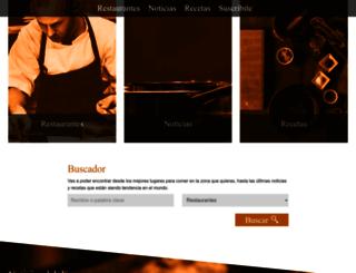 guia.losandes.com.ar screenshot