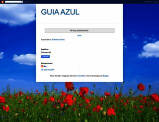 guiaazul.blogspot.com screenshot