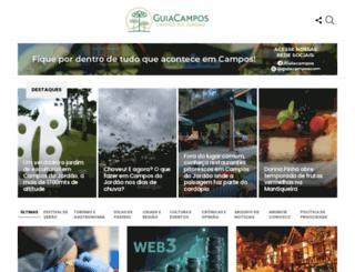 guiacampos.com screenshot